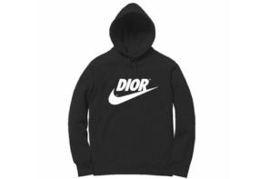 Dior 與 Nike 合作有沒有搞頭?網上已開始流傳「自製聯名」版本