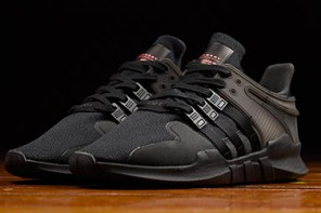 全黑鞋款再來一雙!adidas EQT Support ADV「Shadow」!
