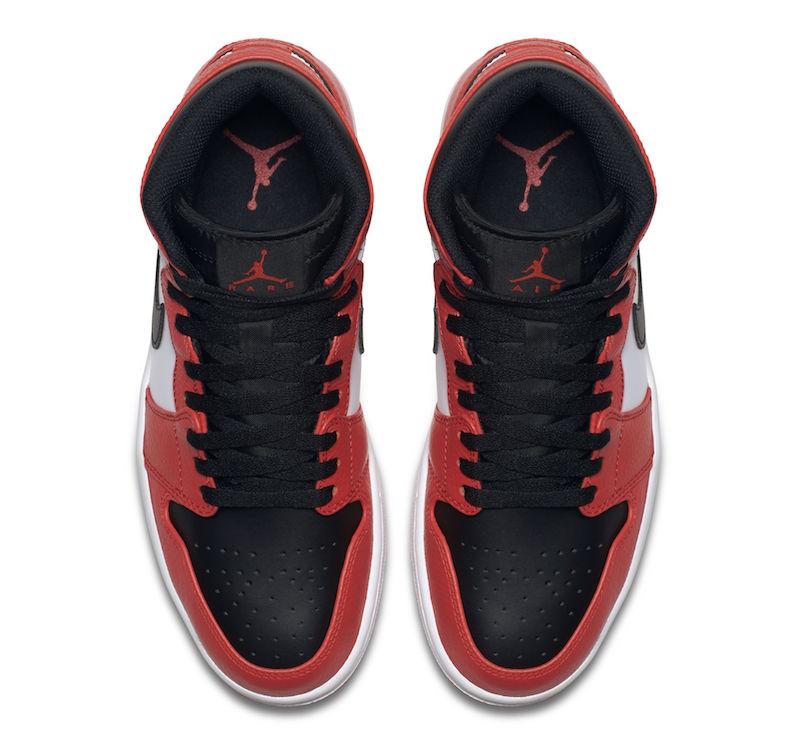 """Air Jordan 1 Rare Air """"Max Orange"""" (via sneakerbardetroit)"""