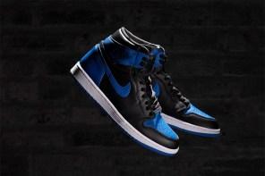 警告!剩下一個禮拜發售,Air Jordan 1 黑藍配色細節大不同!