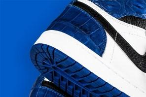 願意用一疊鈔票換一雙客製版藍鱷魚 fragment design x Air Jordan 1 嗎?