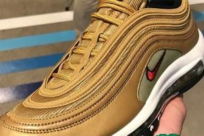 銀子彈算什麼?「金子彈」Nike Air Max 97 也迎來復刻消息囉!