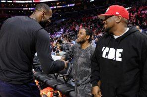 詹皇逆天大三元拿下逆轉勝後,賽後記者會大談 Kendrick Lamar 新專輯帶給他什麼影響