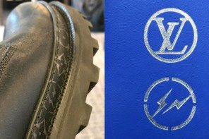 藤原大叔「又不小心」曬出這雙 LV x Fragment 聯名靴!網友:「這雙夠好搭,我可以!」