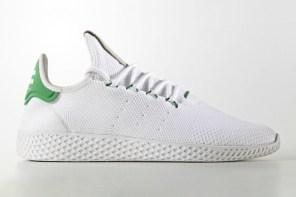 Pharrell x adidas Originals Tennis Hu 聯名鞋款終於釋出!