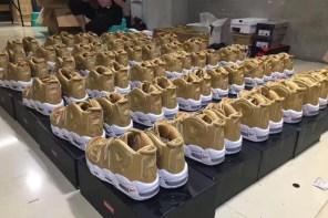 又是哪位「鞋頭」入手了這麼多 Supreme x Nike?不,這些都是要流入市面的假鞋……