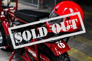 4 秒賣光的摩托車?!Supreme 本季神速售罄紀錄!