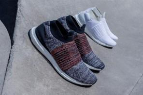 外型與功能整合,adidas 首款無鞋帶跑鞋 UltraBOOST Laceless 熱賣中!