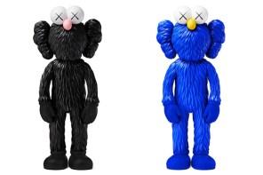 Kaws 限量公仔 BFF 黑、藍配色,突襲再次推出販售!