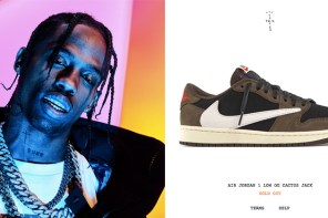 Travis Scott x Air Jordan 1 Low 無預警突擊發售!