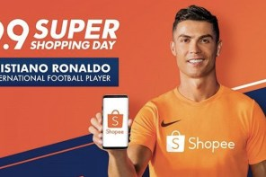 C羅超蝦!蝦皮 99 購物節找足球巨星開直播坐鎮!