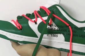 真的嗎?Off-White x Nike SB Dunk Low 確認將有三款配色?