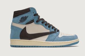 Travis Scott x Air Jordan 1 藍色鞋款曝光?