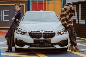 新世代夢幻車款!跟著潮模簡愷蒂、溫上磊坐進 「有種不同」的全新世代 BMW 1 系列!