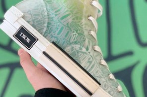 Dior x Shawn Stussy 聯名鞋款率先曝光