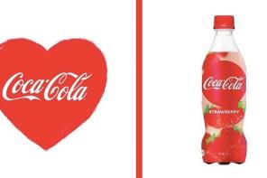 日本撩妹限定!草莓口味可口可樂,情人節限定推出!