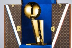原來 LV 是要跟 NBA 推出這個!