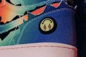 設計師親自曝光!超級盃亮相的「彩虹AJ1」即將發售啦!