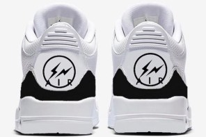 第二道閃電落下!Fragment design x Air Jordan III 悄然曝光!