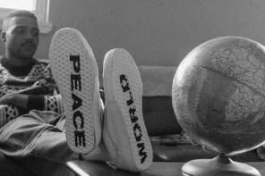 穿上 Vans 滑板選手「WORLD PEACE」鞋款會變強是肯定的吧!
