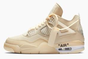 將奪回年度大魔王風采!Off-White™ x Air Jordan IV 正式上架!