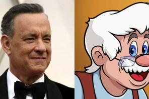 這個老木匠太有感!湯姆漢克斯將參演《木偶奇遇記》真人版電影!