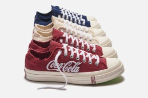 可口可樂最強三方聯名!KITH x Coca-Cola x Converse 正式開搶!