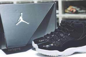 今年什麼鞋沒買就是不能少它!AIR JORDAN 11「黑銀」25 週念限定配色大魔王登場!