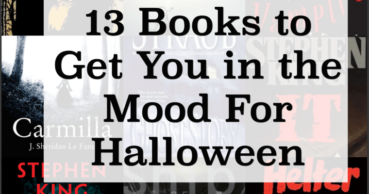 13 Books to Get You in the Mood for Halloween