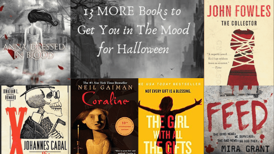 13 MORE Books to Get You In The Mood for Halloween