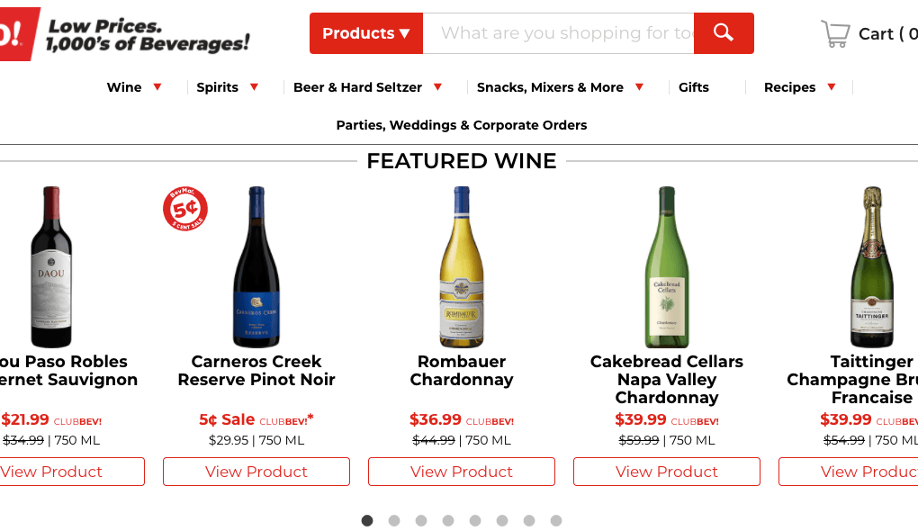 BevMo Black Friday Sales
