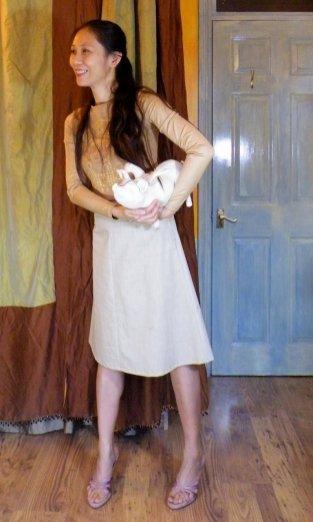 A-line Skirt sloper muslin