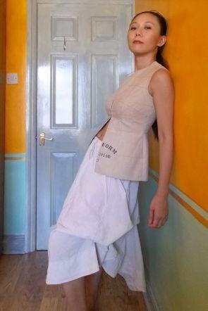 Altered RTW HiLo Skirt