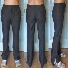 Slim Pants Pattern 5 (Not so) Wearable Muslin 4