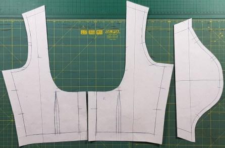 Final pattern - Back