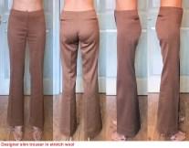 Designer pants