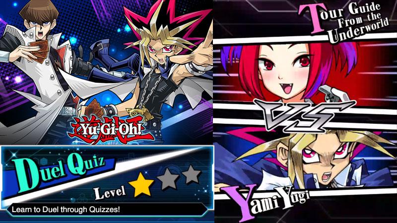 Yu-Gi-Oh! Duel Links : สอนเล่นยูกิ ด้วย Duel Quiz Level 1 Star
