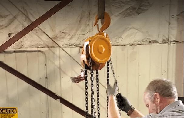 Chain Hoist Load Test