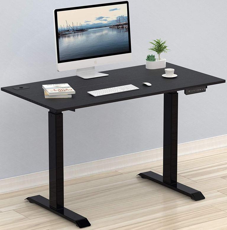 SHW Electric Adjustable Standing Desk