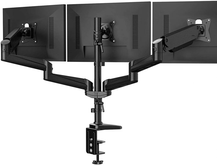 HAUNUO Triple Monitor Stand