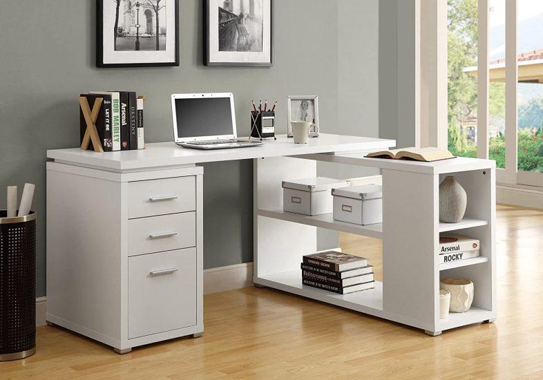 Monarch Specialties Hollow-Core Corner Desk