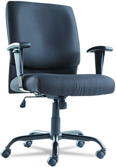 OIF Big and Tall Swivel Tilt Mid-Back Chair