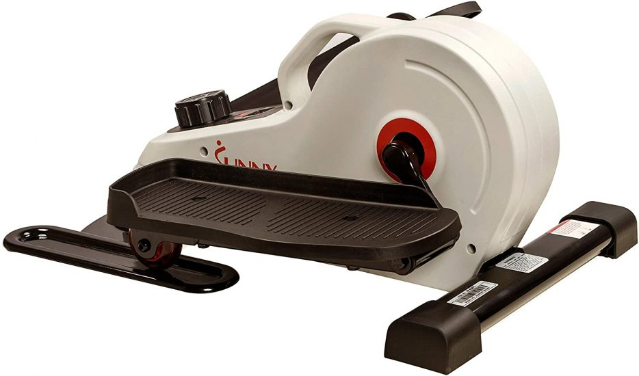 Sunny Health & Fitness Magnetic Underdesk Elliptical