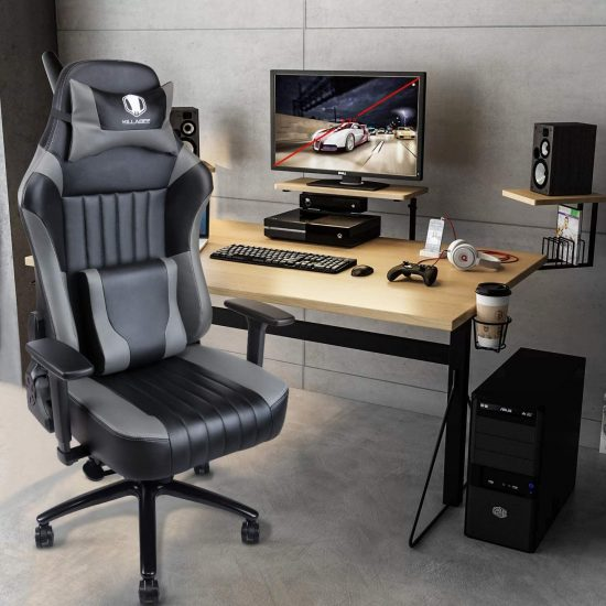 VON RACER Memory Foam Gaming Chair-Adjustable Tilt