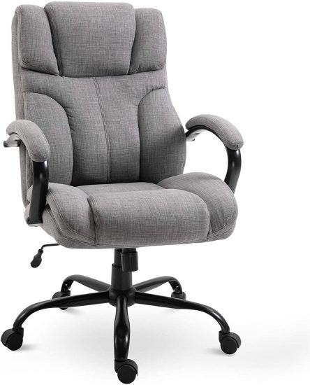 Vinsetto Swivel Ergonomic Big & Tall Office Computer Desk Chair