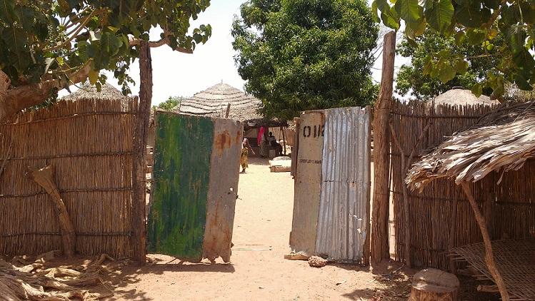 inkijk gambia dorp