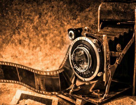 old video camera film movie