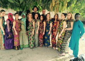 gambiaanse jurken afrika