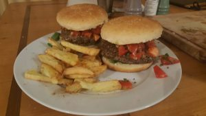 vegan bonen burgers