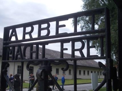 Dachau Gate prisoner entrance
